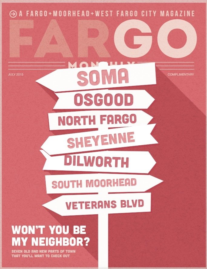 July 2015 Fargo Monthly Cover