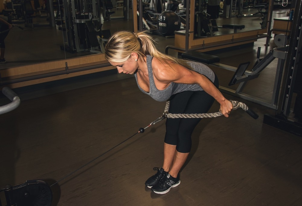 Rope Pulley Curls : The fit life with ashley sornsin stride magazine