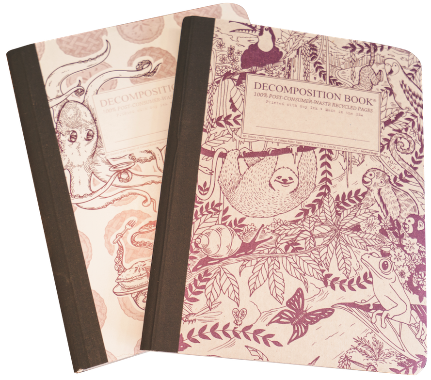 Decomposition notebooks zandbroz variety
