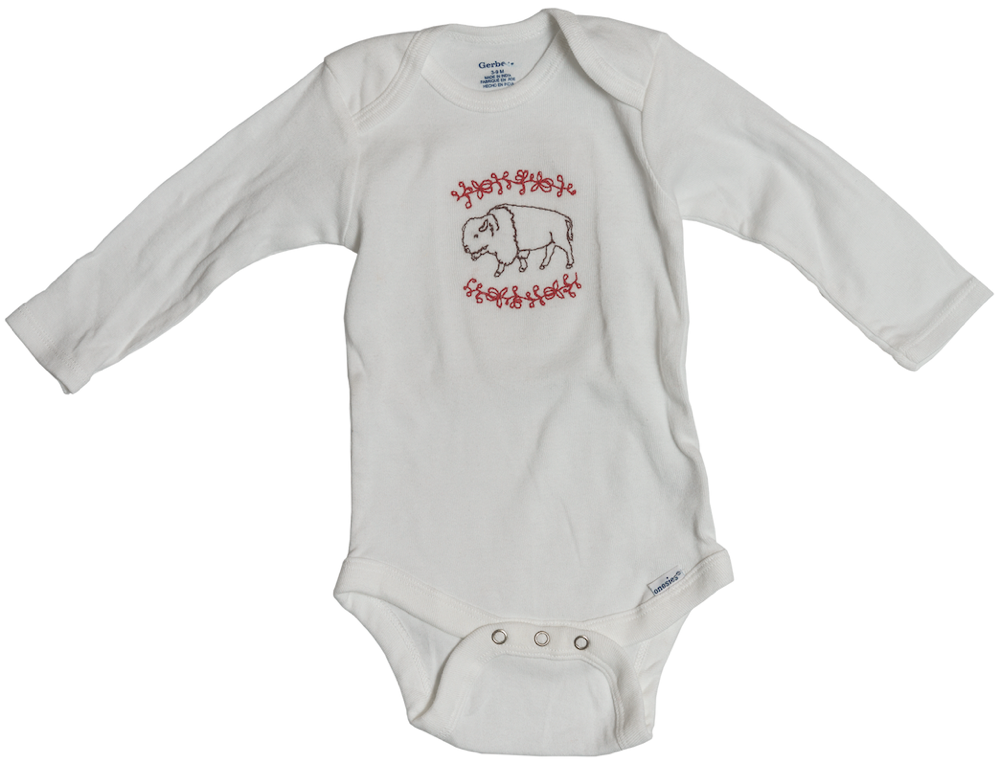 Bison Onesie $20 Unglued