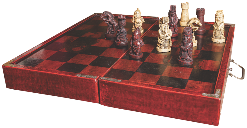Foldable Chess Box Set $75 O'Day Caché