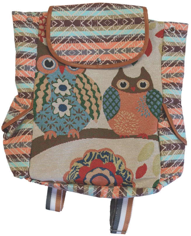 Owl Backpack $18.60 Red Banty Boutique