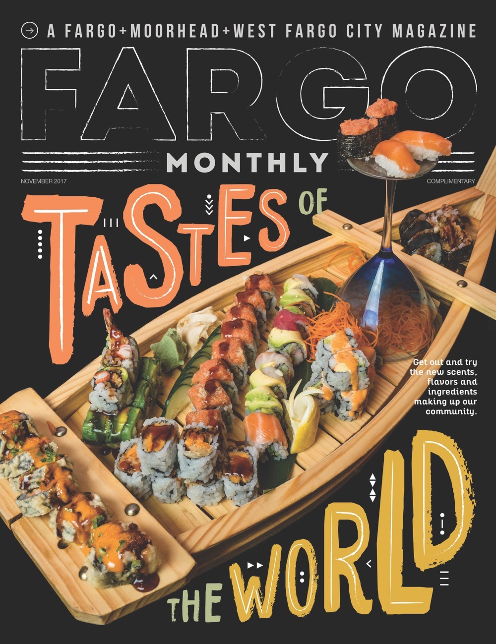 Fargo Monthly Tastes of the World