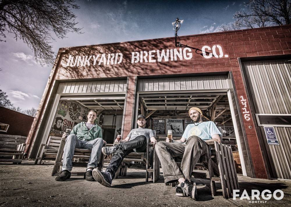 Junkyard Brewing Company Experiments With Flavors And Spaces | Fargo ...